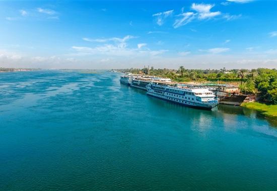 Plavba po Nilu s pobytem u moře -
